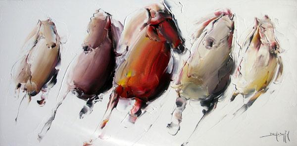 Artiste peintre daniel densborn galerie d 39 art contemporain for Peinture a lhuile couleur argent