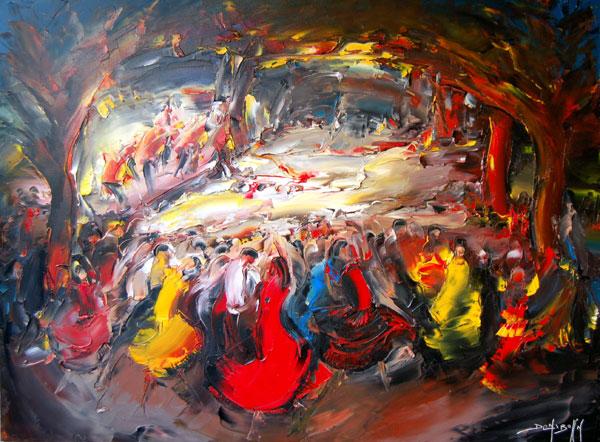 Artiste peintre daniel densborn galerie d 39 art contemporain for Art contemporain artistes