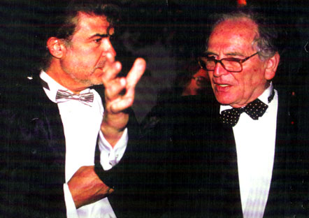Gérard DI-MACCIO et Pierre CARDIN