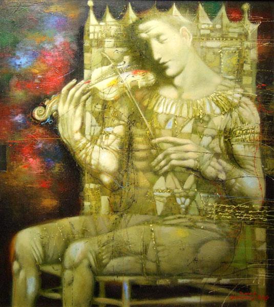 peinture d'art gasparian