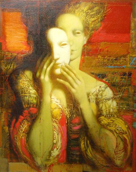 oeuvre artiste peintre contemporain gasparian