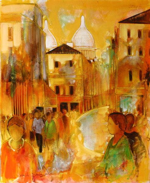 Tableau de l'artiste peintre Claude SAUZET