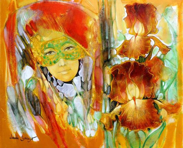 Peinture contemporaine de Claude SAUZET