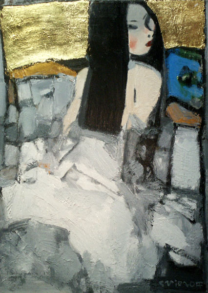 Peinture de l'artiste peintre SMIRNOFF