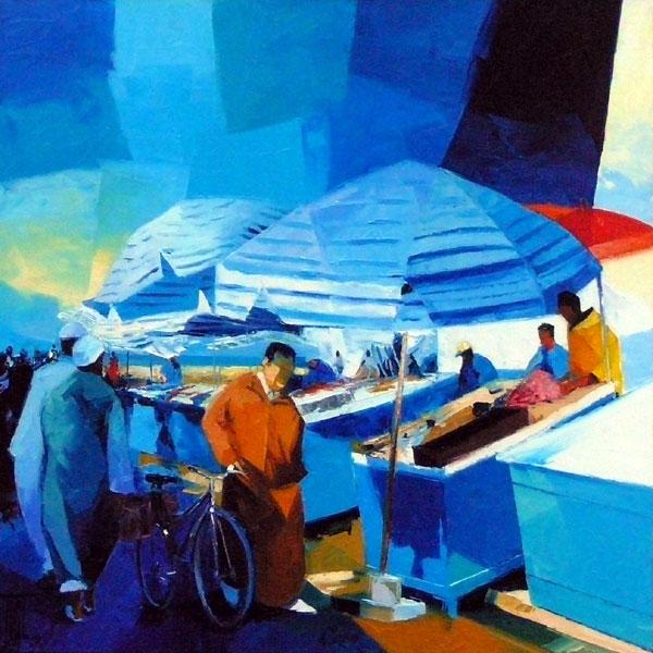 Exposition à la Galerie d'art GRAAL des oeuvres de Pierrick TUAL