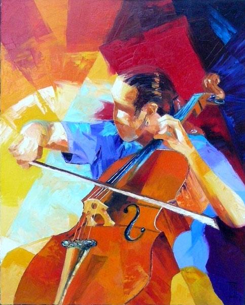 Peinture musique Pierrick TUAL