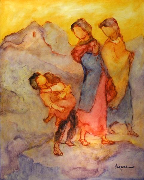 Peinture de l'Artiste Mario VARGAS