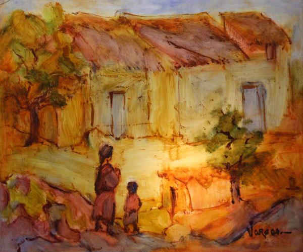 Peinture de Mario VARGAS Artiste peintre