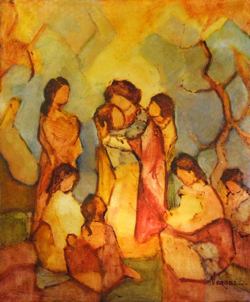 peinture de l'artiste vargas