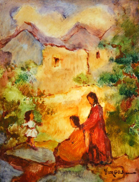 Mario VARGAS Peinture