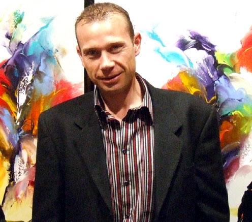 Thierry ZDZIEBLO exposition à la Galerie GRAAL