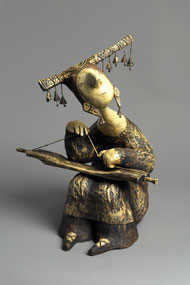 Sculpture papier maché Roman SHUSTROV