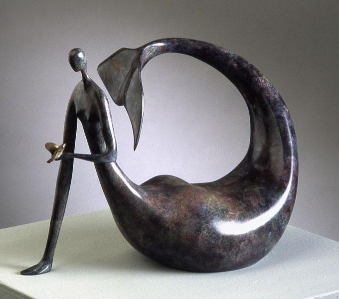 galerie graal galeries d 39 art contemporain sculpture marie madeleine gautier la sirene. Black Bedroom Furniture Sets. Home Design Ideas
