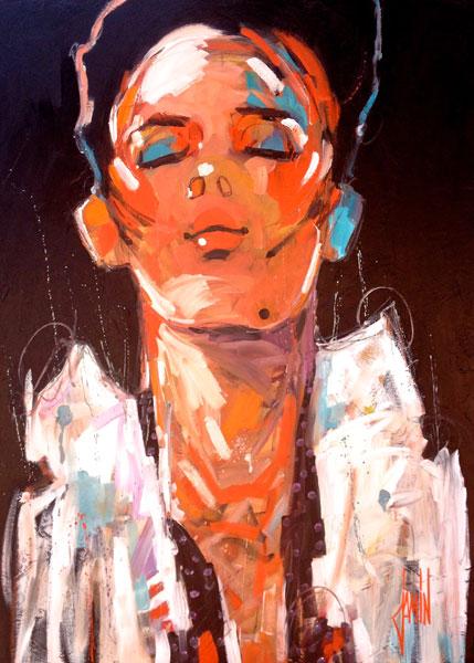 PEINTURE : DAVID JAMIN - CHALEUR