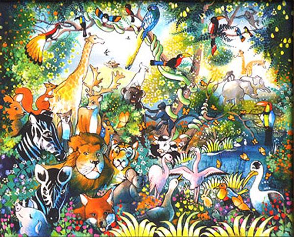 Galerie graal galeries d 39 art contemporain peinture for Tableau de l arche de noe