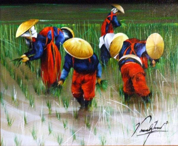 Peintre Japonais Contemporain Croix Saint Julien
