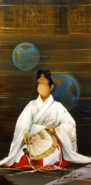 PEINTURE : RAYMOND POULET - SHINTO I