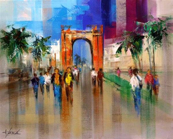 Artiste peintre josep teixido galerie d 39 art for Artiste peintre catalan