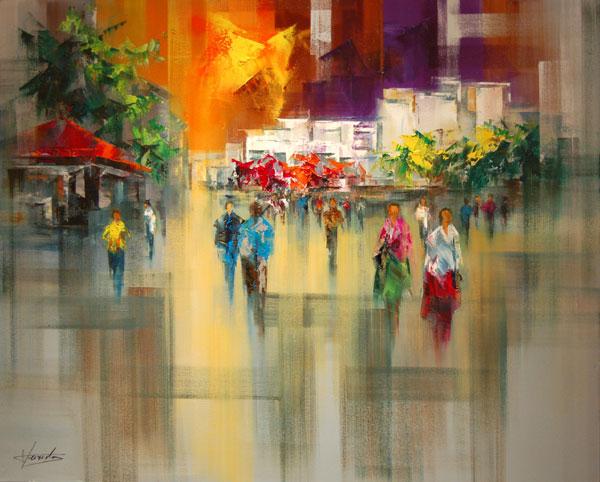 Top artiste peintre : Josep TEIXIDO - Galerie d'art IY69