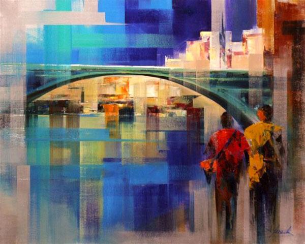 Galerie graal galeries d 39 art contemporain peinture josep teixido el seine paris - Galerie street art paris ...