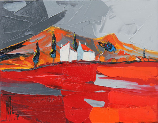 galerie graal galeries d 39 art contemporain peinture pierrick tual vent du sud. Black Bedroom Furniture Sets. Home Design Ideas