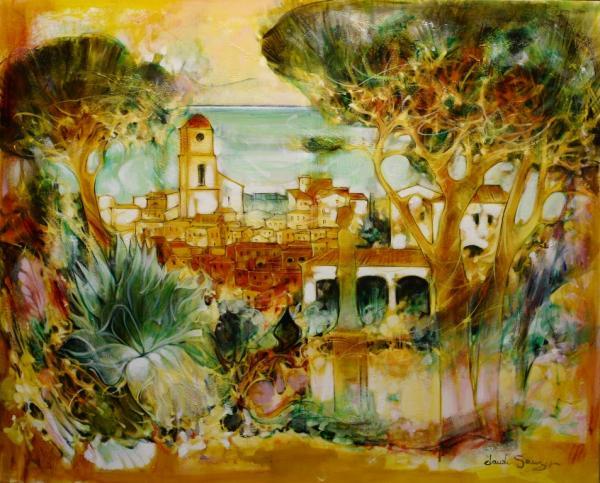 galerie graal galeries d 39 art contemporain peinture claude sauzet saint tropez cote jardin. Black Bedroom Furniture Sets. Home Design Ideas