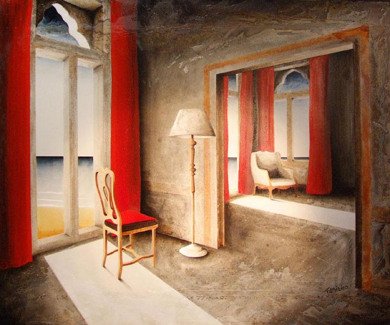 Peinture mixte FABIANO Nelson