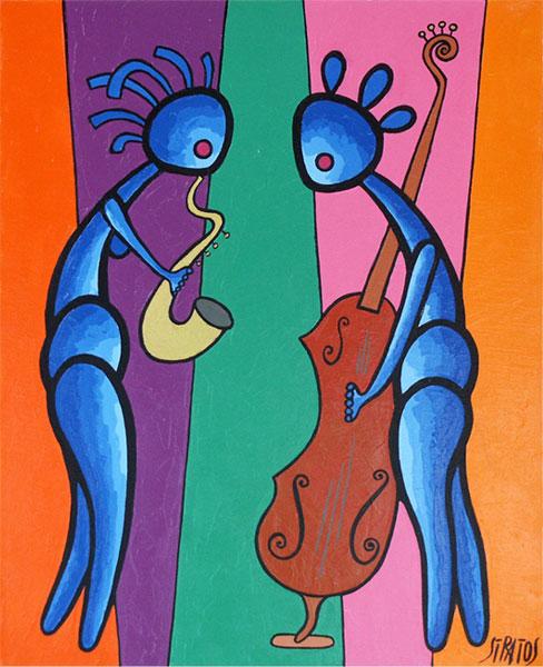 peinture stratos