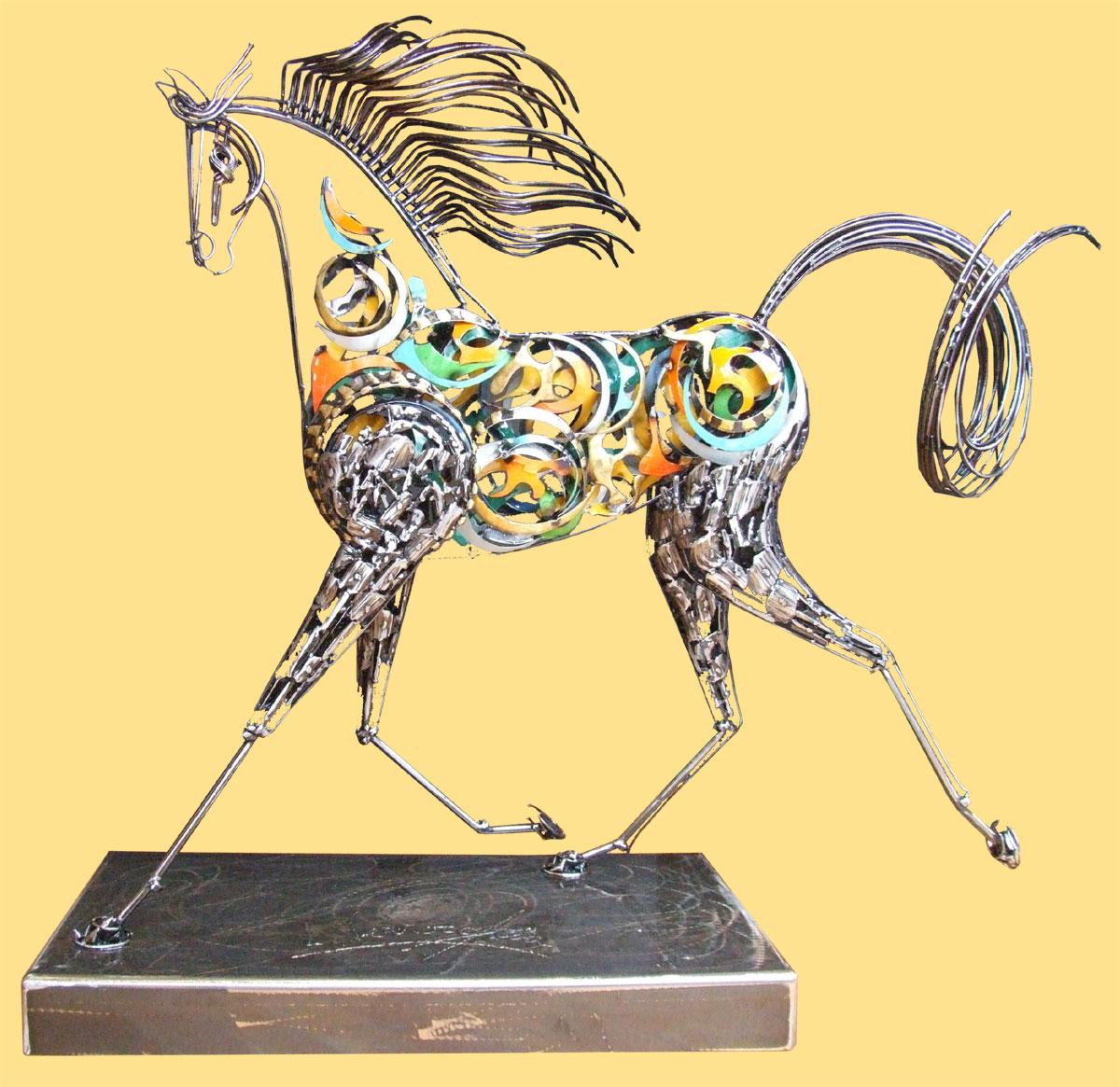 Artiste sculpteur contemporain for Art contemporain sculpture