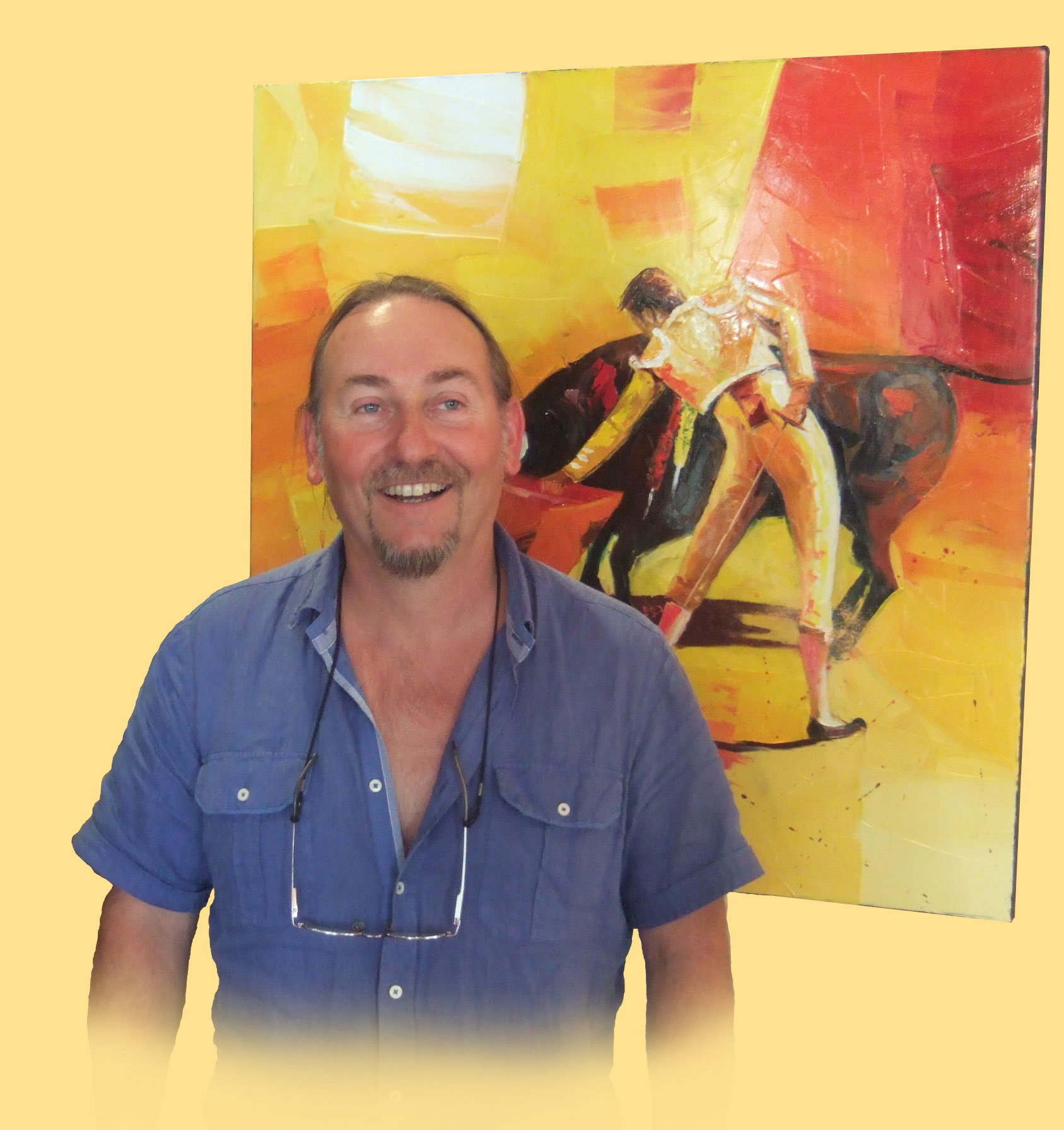 Pierrick TUAL artiste peintre à la Galerie d'art GRAAL